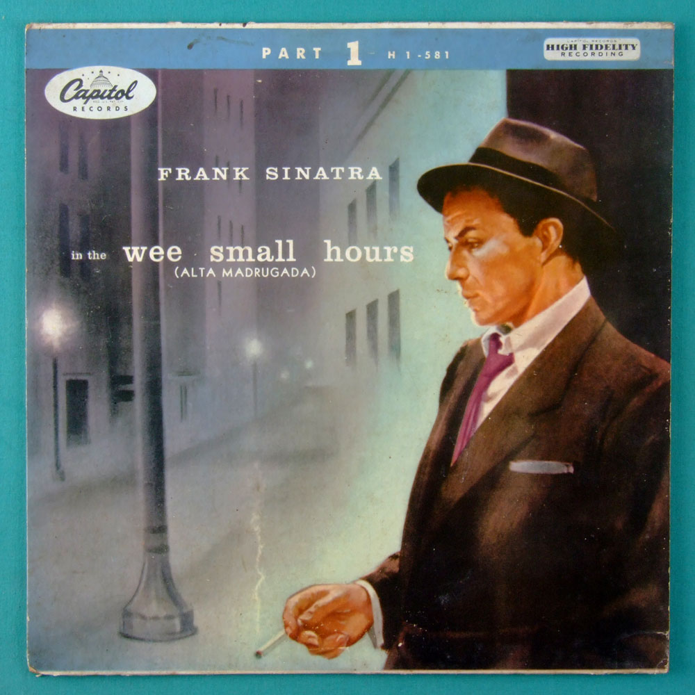 10 INCHES FRANK SINATRA IN THE WEE SMALL HOURS JAZZ POP MUSIC BRAZIL