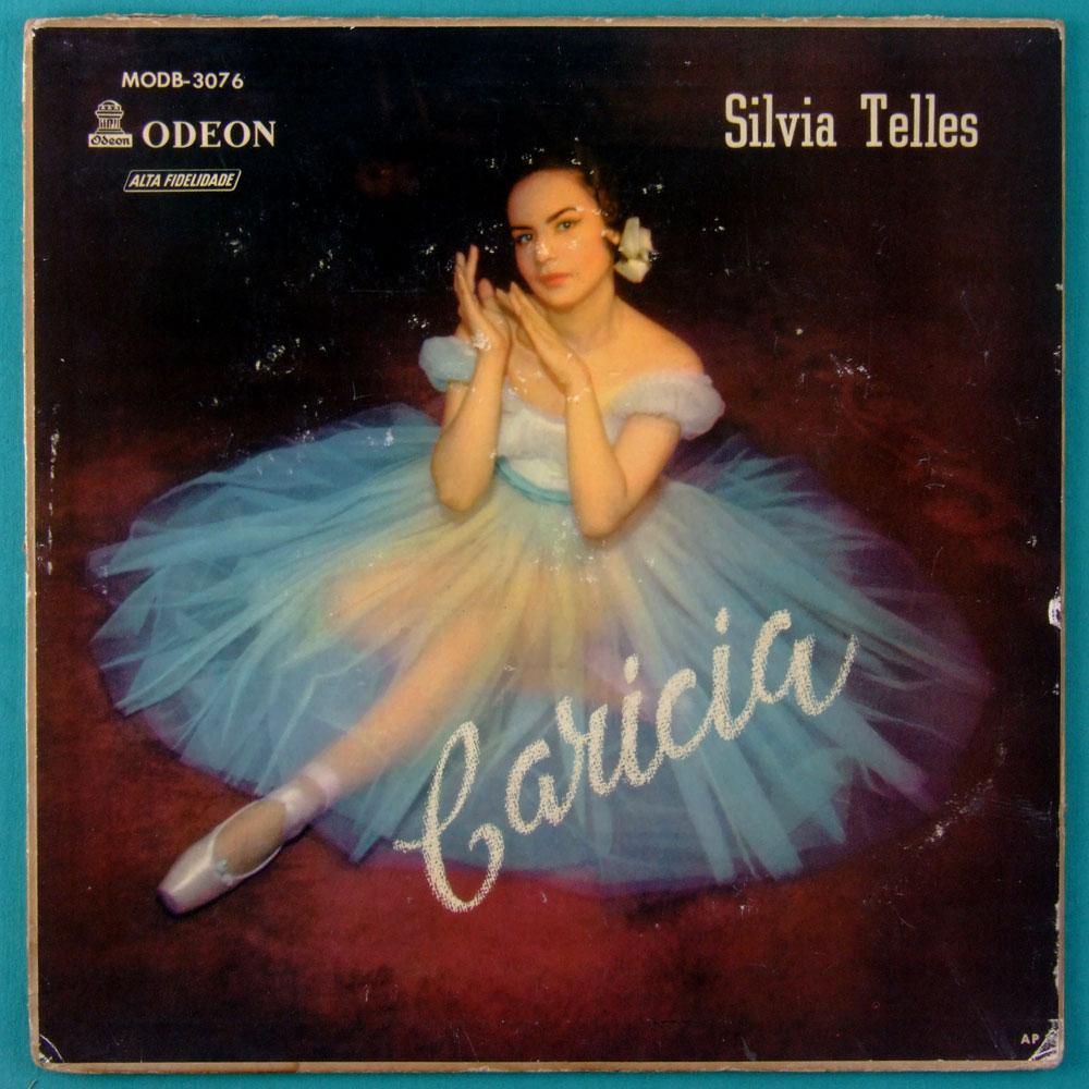 10 INCHES SYLVIA SILVIA TELLES CARICIA 1957 TOM JOBIM BOSSA SAMBA FOLK BRAZIL