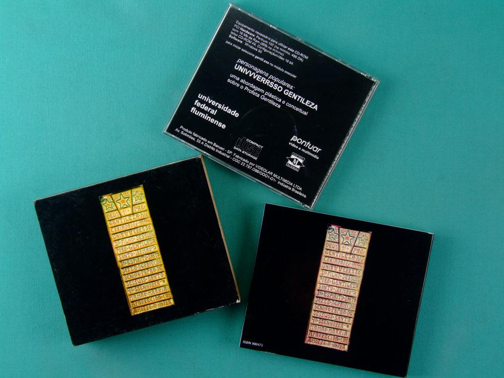 CD ROM UNIVVVERRSSO UNIVERSO GENTILEZA 1997 PROFETA GENTILEZA LEONARDO GUELMAN BRAZIL