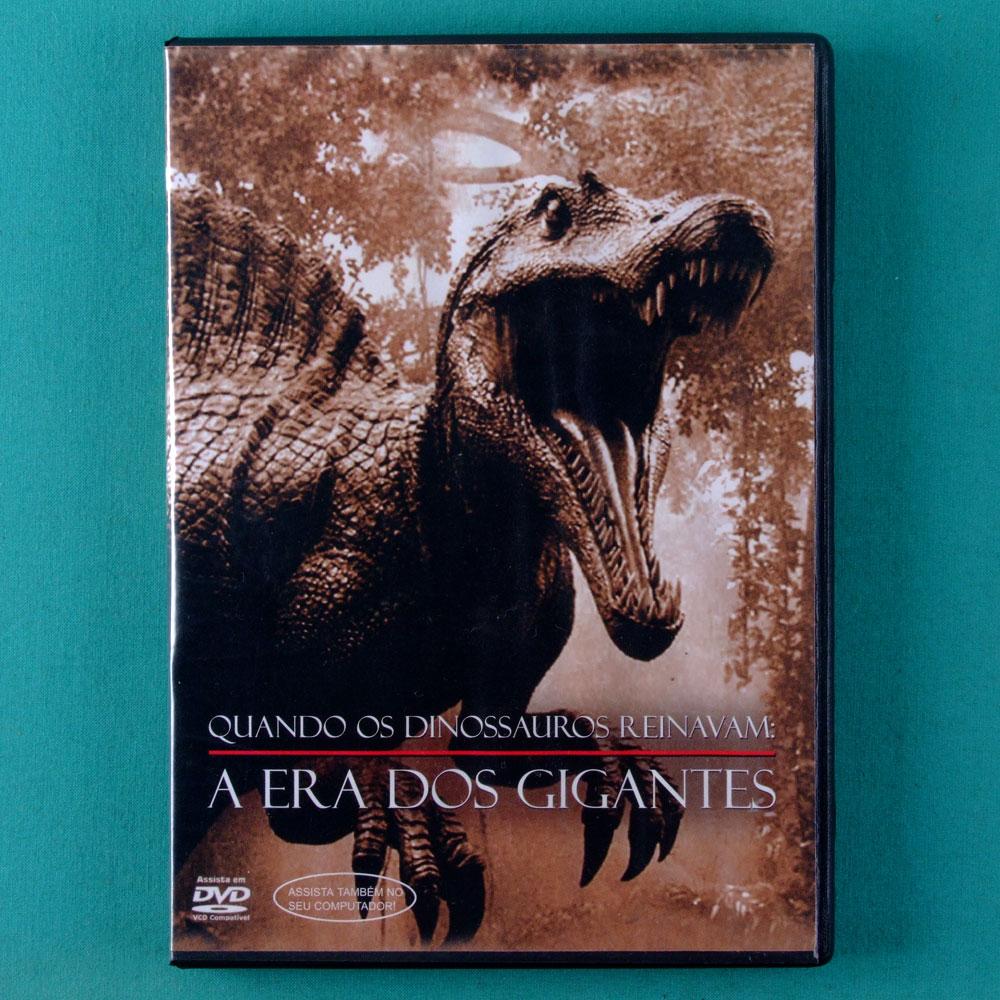 DVD QUANDO OS DINOSSAUROS REINAVAM A ERA DOS GIGANTES EXPLORACOES MAGAZINE BRAZIL