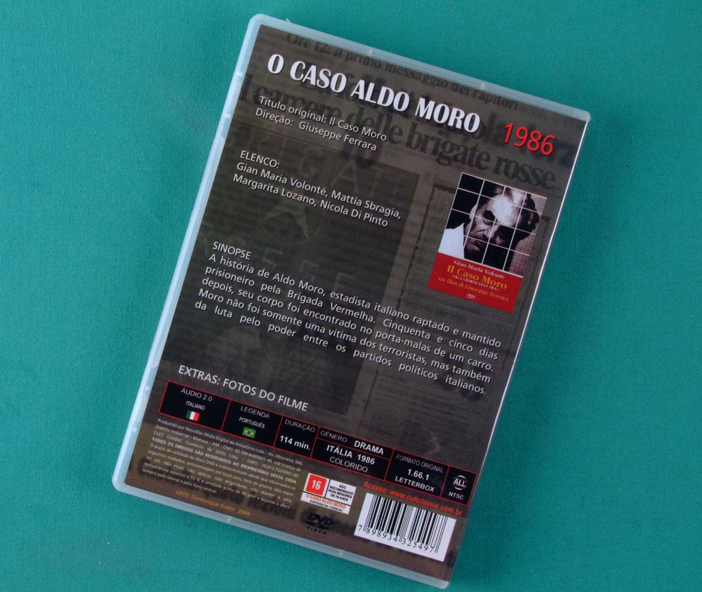 DVD IL CASO MORO 1986 ITALY DOCUMENTARY HISTORY BRAZIL