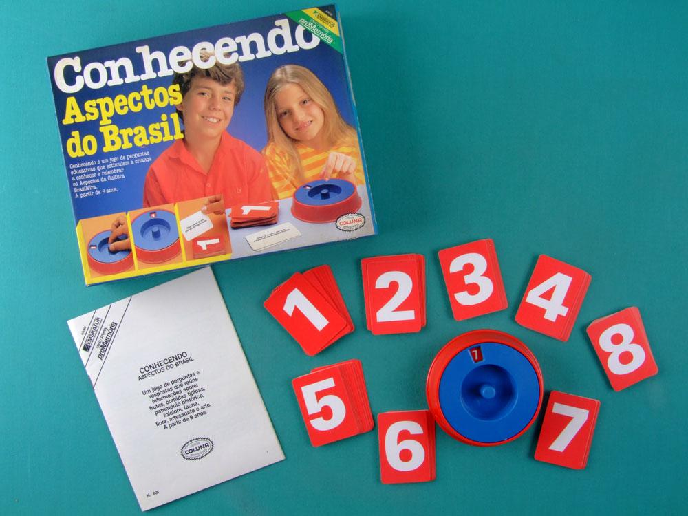 GAMES CONHECENDO ASPECTOS DO BRASIL COLUNA VINTAGE 80'S TOYS BRAZIL