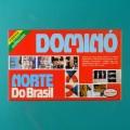 GAMES DOMINO NORTE DO BRASIL COLUNA VINTAGE 80'S TOYS BRAZIL