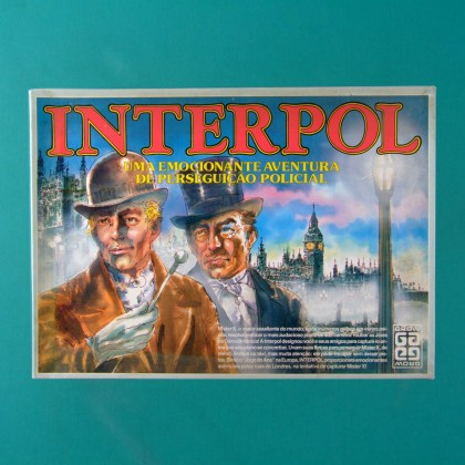 GAMES INTERPOL GROW VINTAGE 80'S TOYS BRAZIL