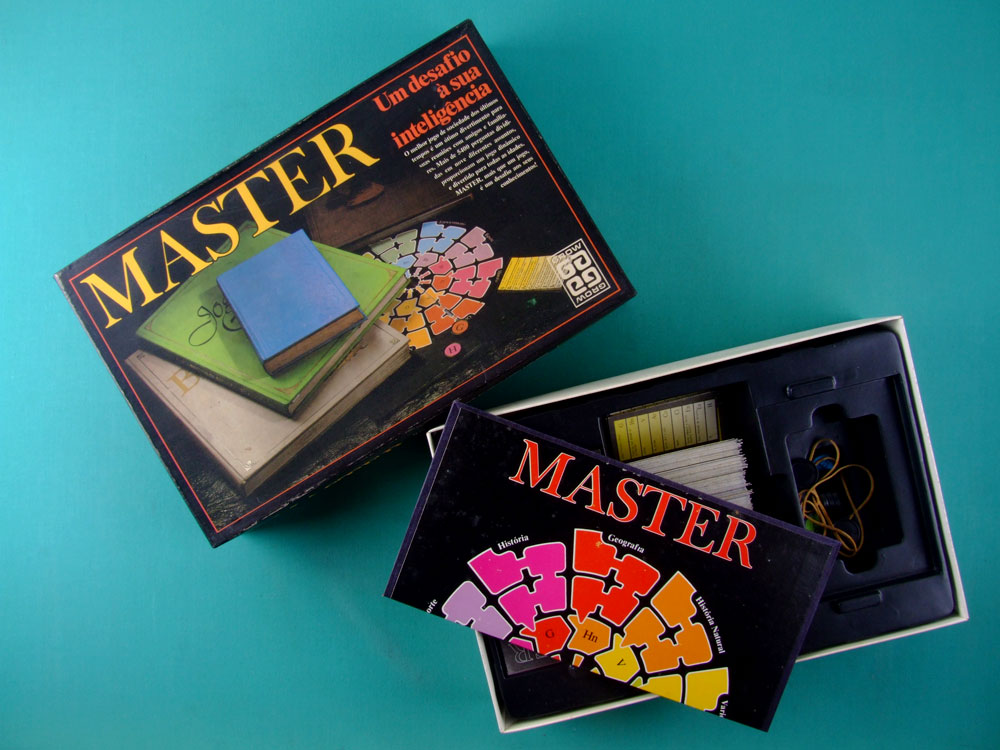 GAMES MASTER GROW 80'S TOY BRAZIL