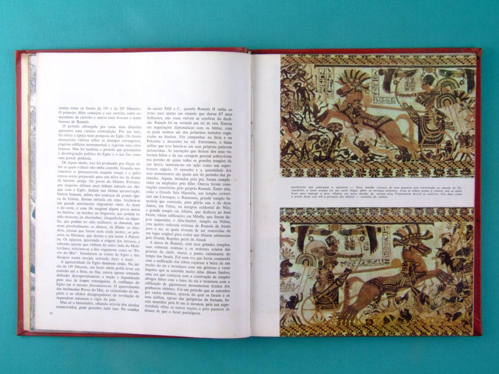 BOOK O ANTIGO EGITO 1969 BIBLIOTECA DE HISTORIA UNIVERSAL TIME LIFE BRASIL