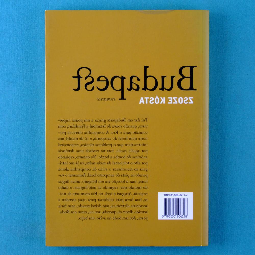 BOOK CHICO BUARQUE BUDAPESTE 2003 2ND EDITION BRAZIL