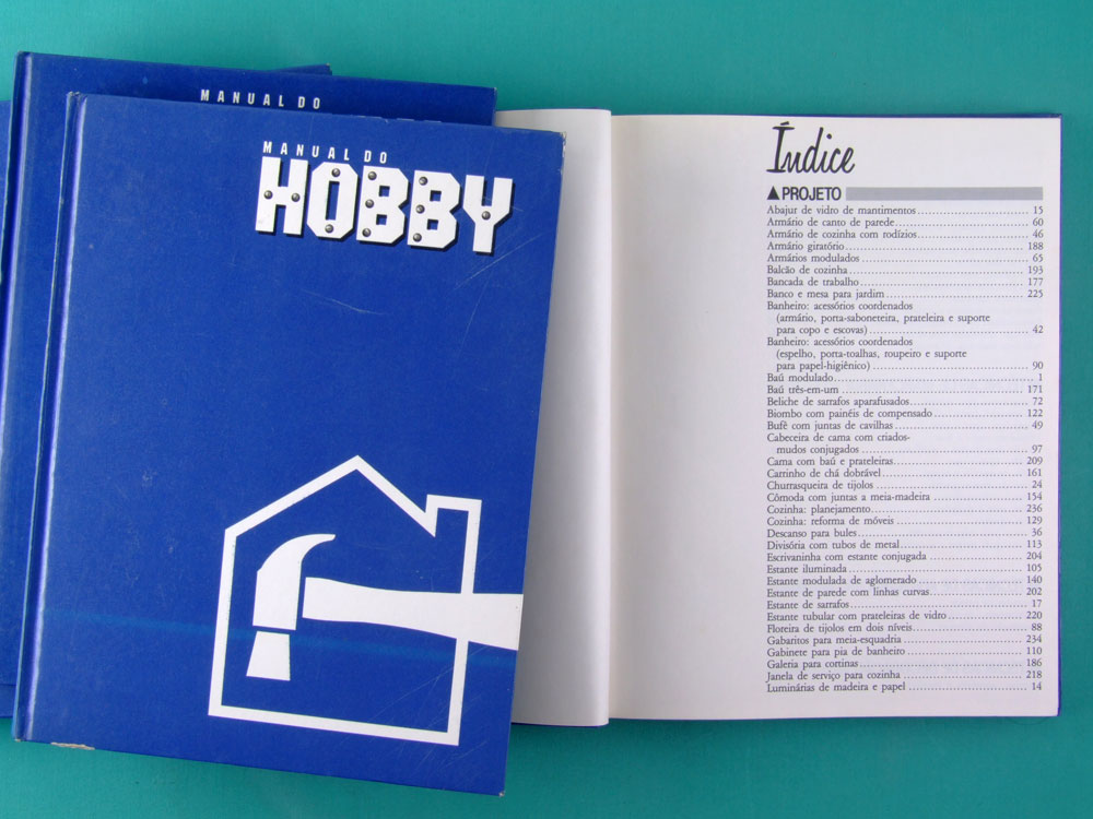 BOOK COMPLETE COLLECTION MANUAL DO HOBBY 1986 BRAZIL