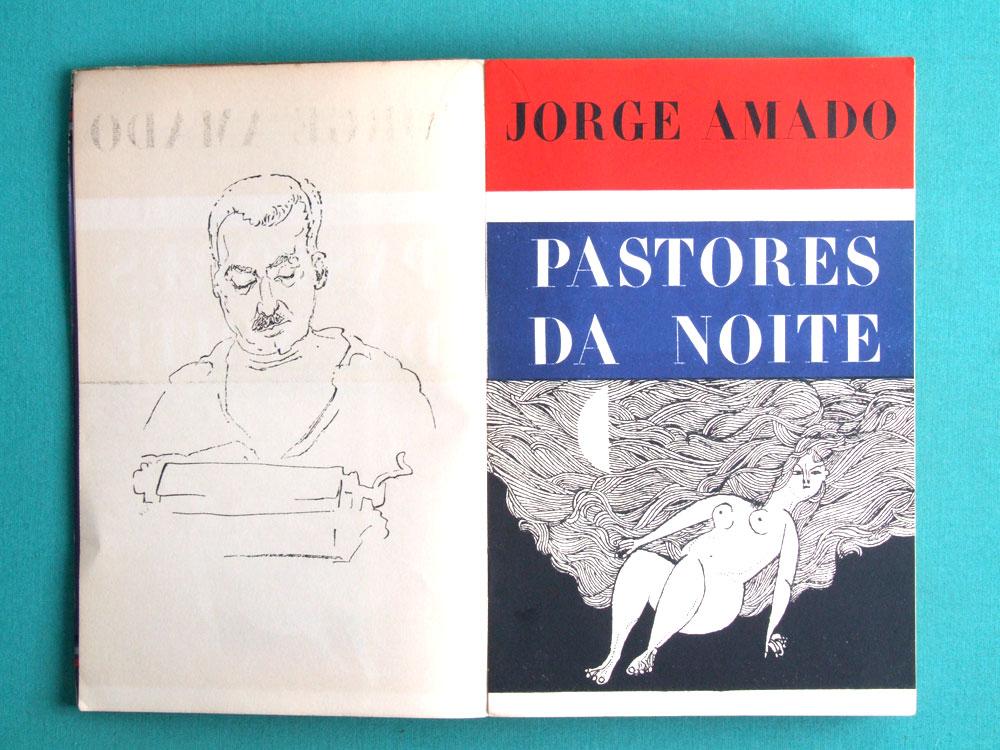 BOOK JORGE AMADO OS PASTOES DA NOITE 1ST EDITION BRAZIL