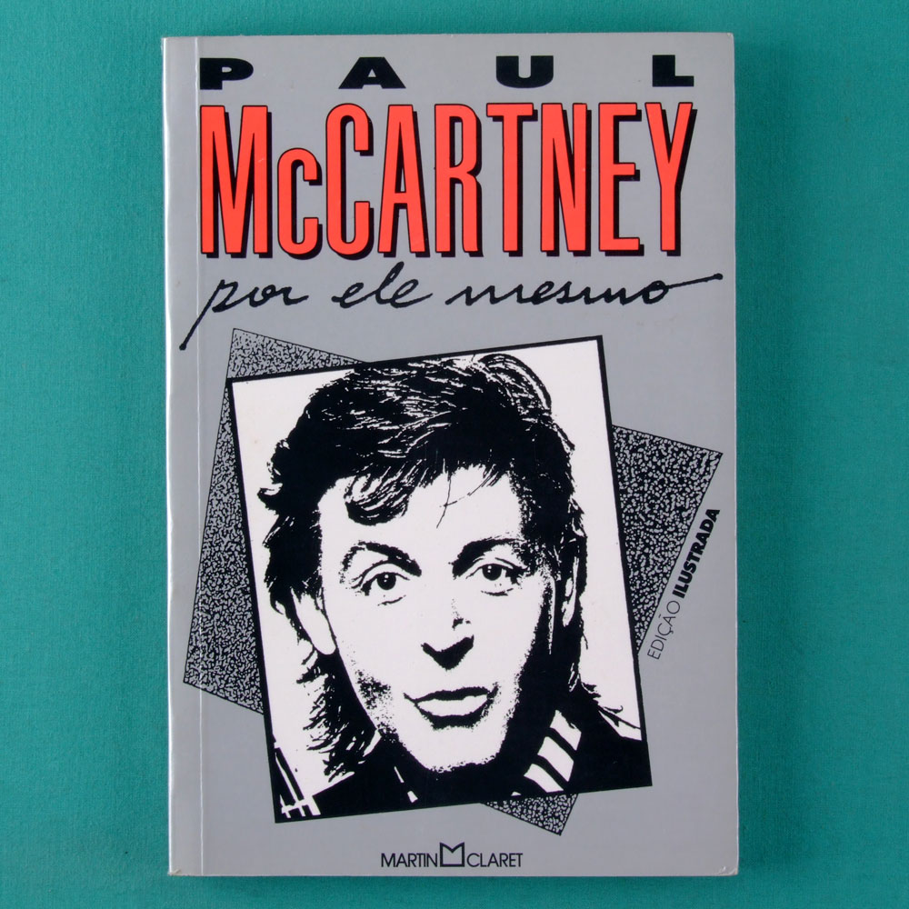 BOOK PAUL MCCARTNEY POR ELE MESMO 1993 THE BEATLES BRAZIL