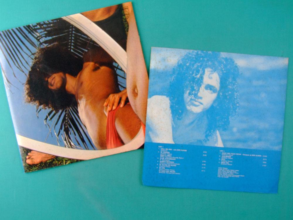 LP CAETANO VELOSO ARACA AZUL 1972 TROPICALIA LANNY GORDIN DUPRAT PSYCH EXP BRAZIL