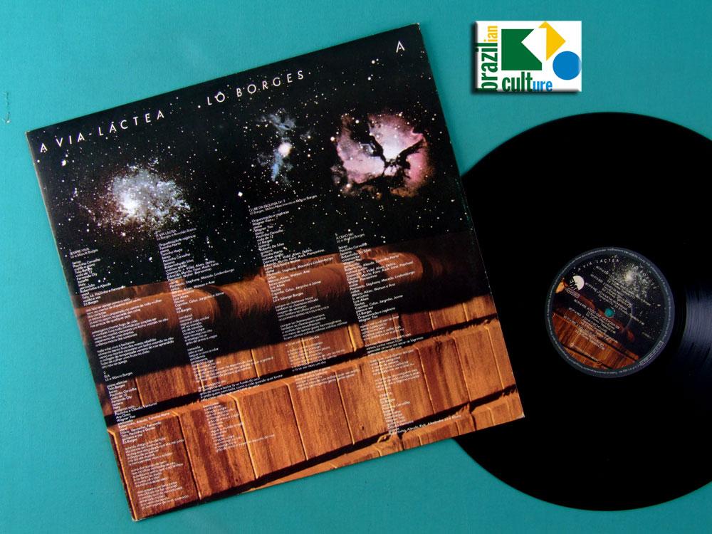 LP LO BORGES A VIA LACTEA 1979 FOLK MINAS REGIONAL BRASIL