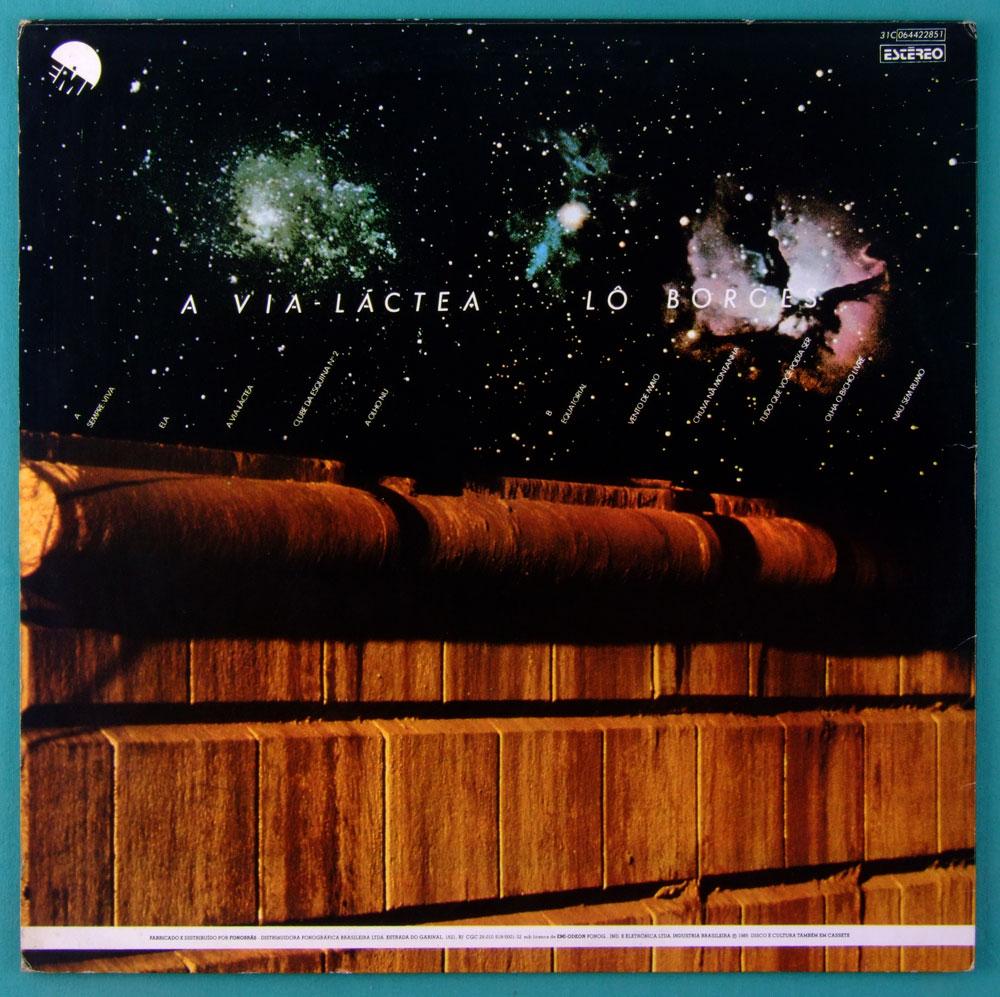 LP LO BORGES A VIA LACTEA 1979 FOLK MINAS REGIONAL BRAZIL