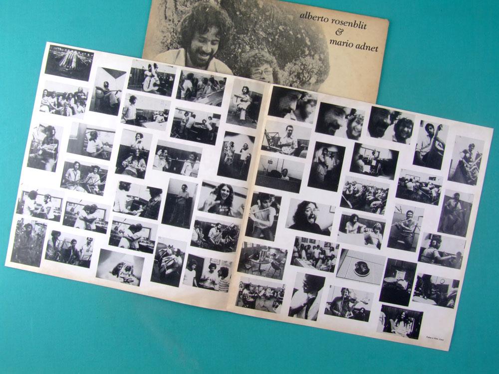 LP ALBERTO ROSENBLIT & MARIO ADNET 1979 FOLK JAZZ BOSSA INDEPENDENT BRAZIL