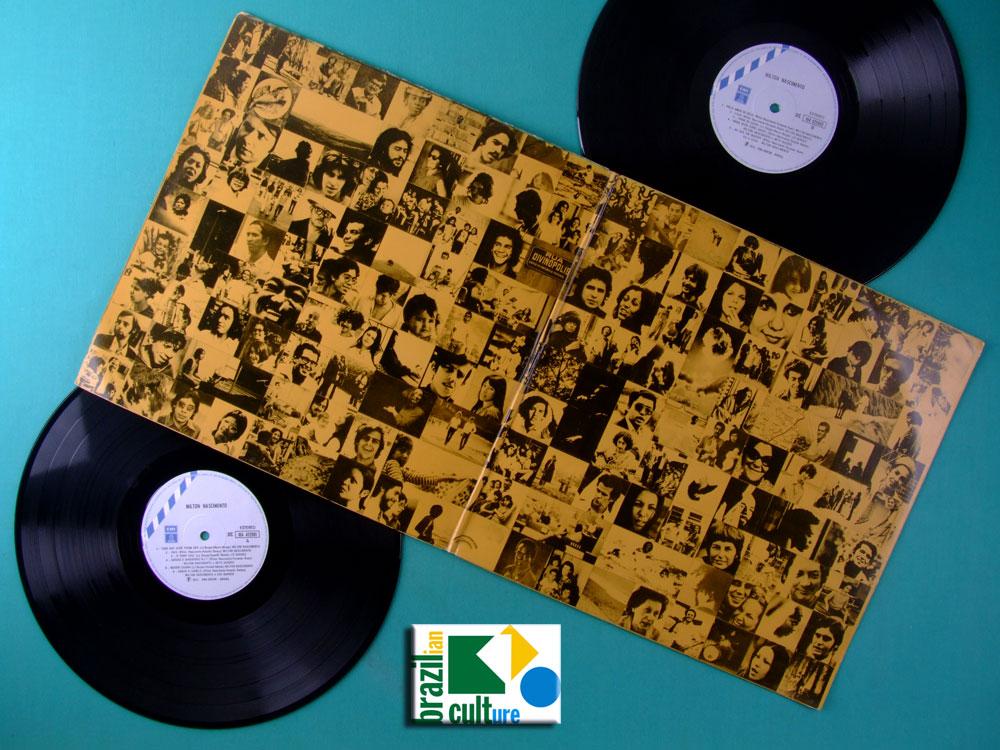 LP MILTON NASCIMENTO & LO BORGES CLUBE DA ESQUINA 1972 3RD MINAS JAZZ FOLK BRAZIL