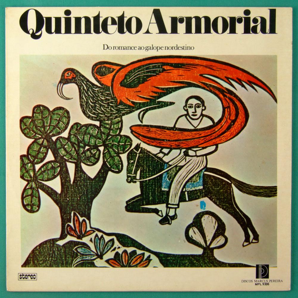 LP QUINTETO ARMORIAL DO ROMANCE AO GALOPE NORDESTINO 1975 INSTRUMENTAL ARIANO SUASSUNA BRAZIL
