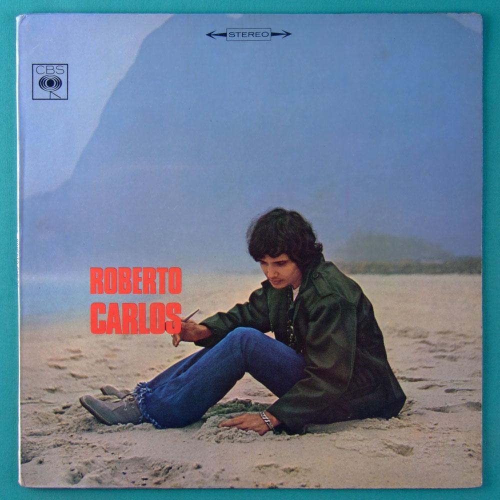 LP ROBERTO CARLOS ROBERTO CARLOS 1969 STEREO DIAMANTE COR DE ROSA SOUL GROOVE ROCK BEAT JOVEM GUARDA BRAZIL