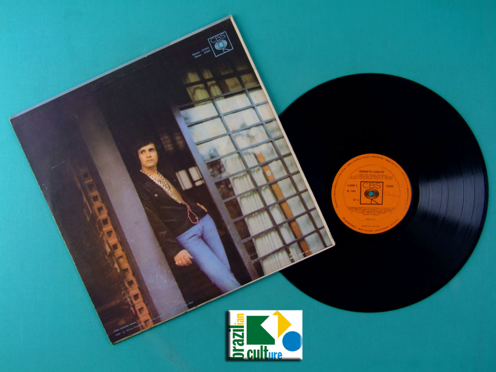 LP ROBERTO CARLOS ROBERTO CARLOS 1969 MONO DIAMANTE COR DE ROSA SOUL GROOVE ROCK BEAT JOVEM GUARDA BRAZIL