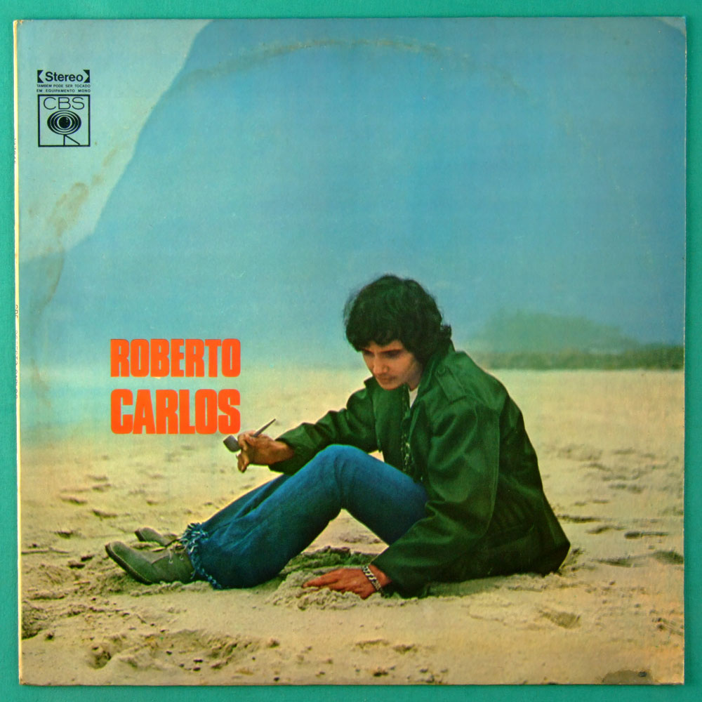LP ROBERTO CARLOS 1969 2ND DIAMANTE COR DE ROSA SOUL GROOVE ROCK BEAT JOVEM GUARDA BRAZIL