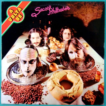 LP SECOS & MOLHADOS 1973 3RD GLITTER ROCK FOLK PSYCH BRAZIL
