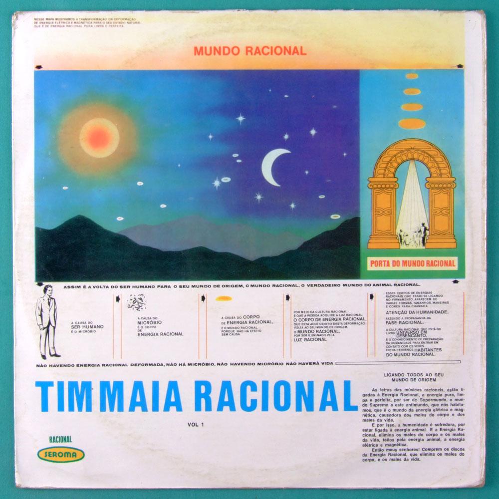 LP TIM MAIA RACIONAL MUNDO RACIONAL VOL 1 1974 SEROMA SOUL FUNK GROOVE BRAZIL
