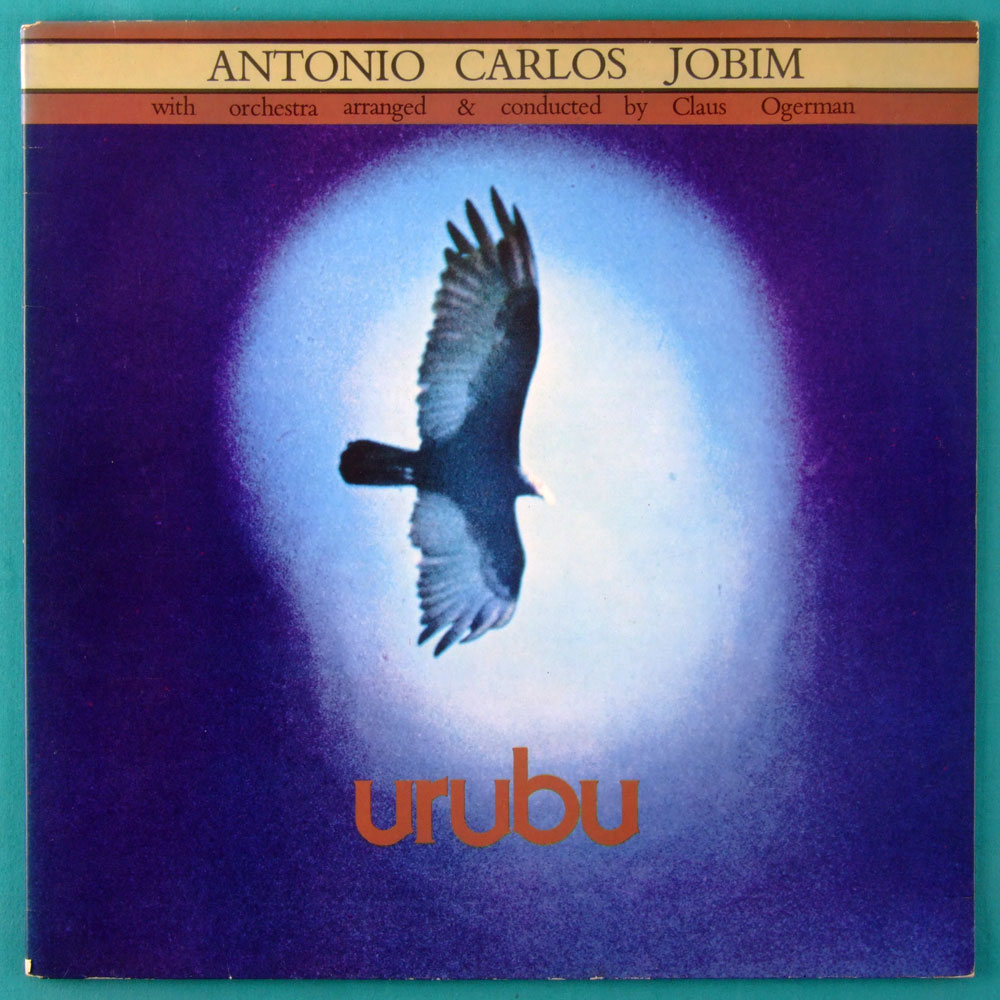 LP TOM JOBIM URUBU 1976 1ST EDITION  BOSSA JAZZ BRAZIL