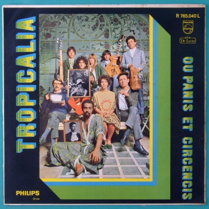 LP TROPICALIA OU PANIS ET CIRCENCIS 1968 MONO 1ST MUTANTES TOM ZE GILBERTO GIL CAETANO VELOSO GAL COSTA NARA LEAO BRAZIL