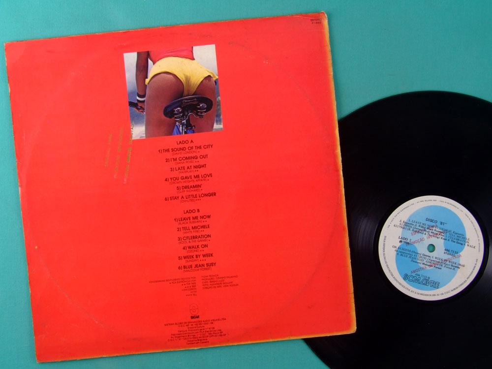 LP DISCO 81 1980 XUXA SEXY POP ROCK SOUL PROMOCIONAL RECORD BRAZIL