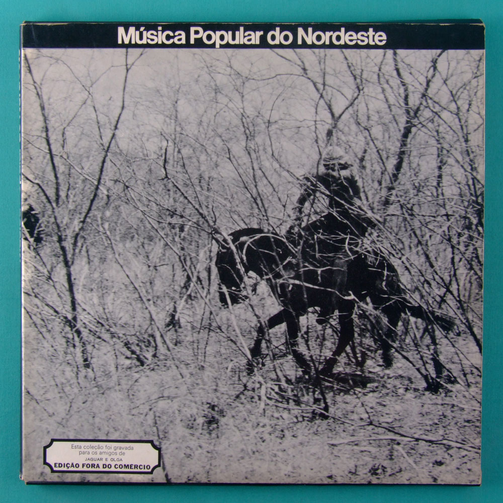 LP BOXED MUSICA POPULAR DO NORDESTE 1972 FOLK ROOTS PRIVATE JOGRAL MARCUS PEREIRA BRAZIL