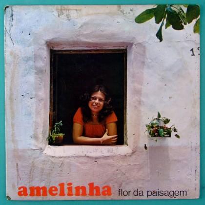 LP AMELINHA FLOR DA PAISAGEM 1977 FAGNER PSYCH FOLK REGIONAL BRAZIL