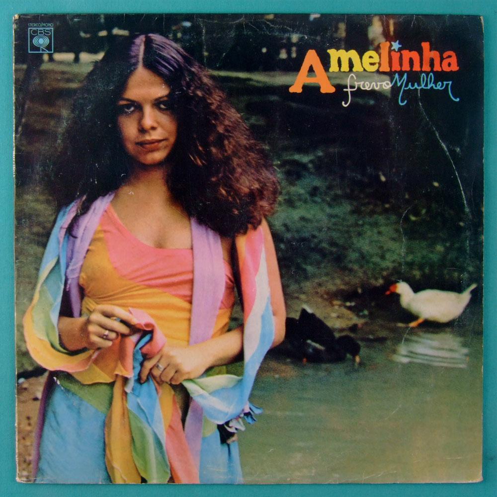 LP AMELINHA FREVO MULHER 1979 ZE RAMALHO DOMINGUINHOS GERALDO AZEVEDO CATIA DE FRANCA FOLK REGIONAL BRAZIL