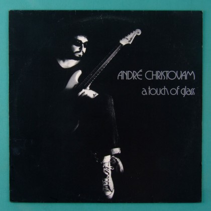 LP ANDRE CHRISTOVAM A TOUCH OF GLASS 1990 ROCK BRAZIL