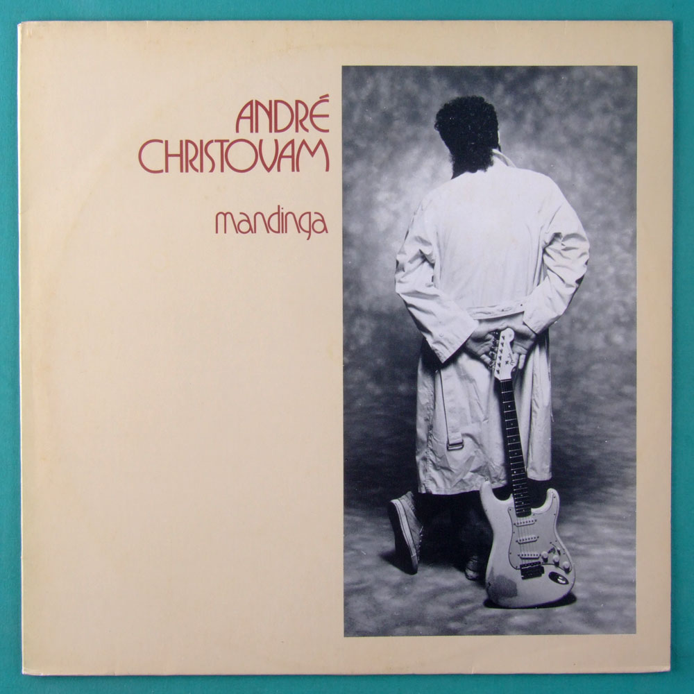 LP ANDRE CHRISTOVAM MANDINGA ROCK BLUES GUITAR BRAZIL
