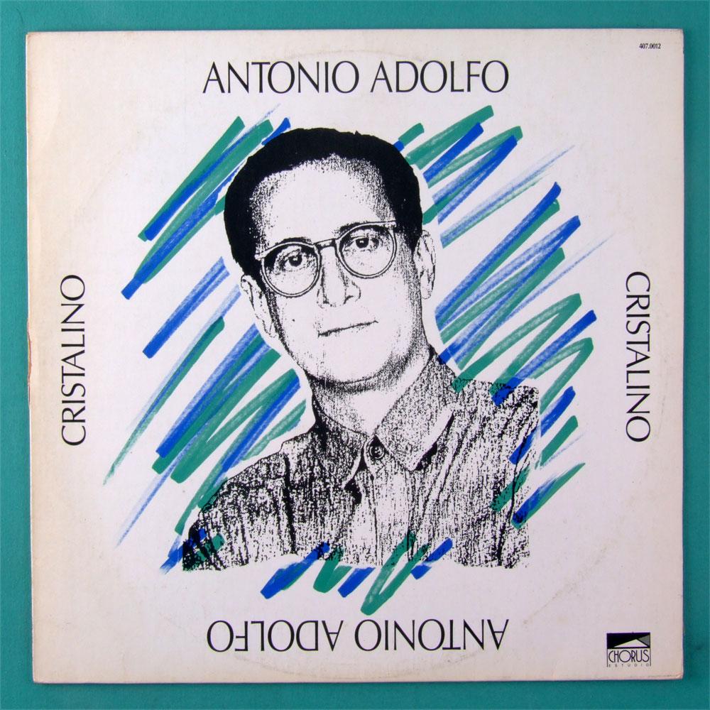 LP ANTONIO ADOLFO CRISTALINO 1989 JAZZ BOSSA NOVA SOUL BRAZIL