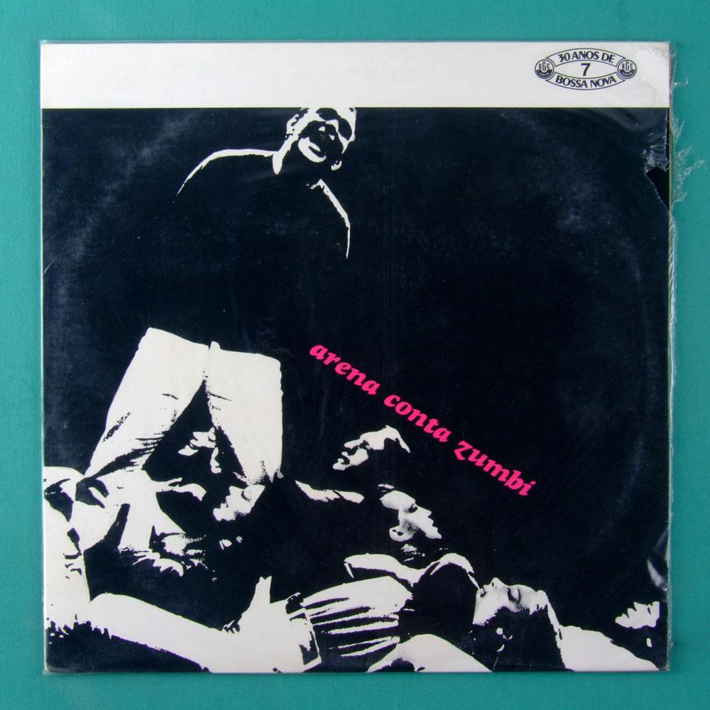 LP EDU LOBO OST FROM THE PLAY ARENA CONTA ZUMBI 1965 / 1989 BRAZIL