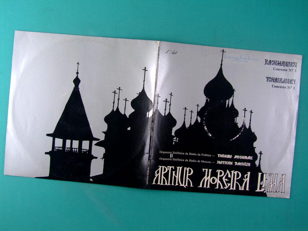 LP ARTHUR MOREIRA LIMA RACHMANINOV TCHAIKOVSKY ERUDITE PIANO INSTRUMENTAL BRAZIL