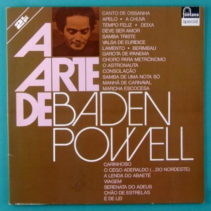 LP BADEN POWELL A ARTE DE 1975 SAMBA BOSSA BRAZIL