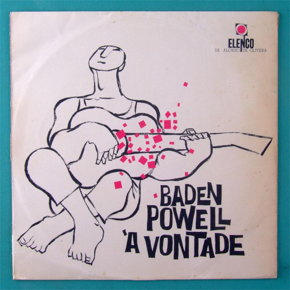 LP BADEN POWELL A VONTADE 1963 SAMBA BOSSA JAZZ BRAZIL