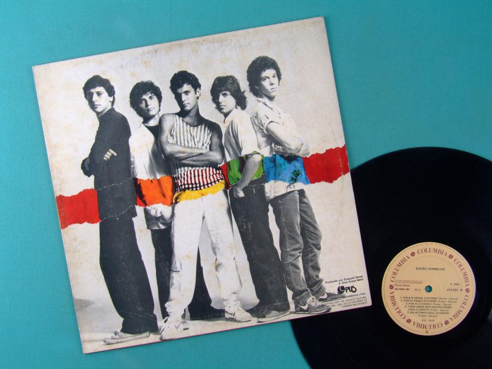 LP BARAO VERMELHO 1 DEBUT 1982 POP ROCK FOLK PSYCH BRAZIL