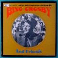 LP BOX BING CROSBY AND FRIENDS 1977 4 LPS BRAZIL