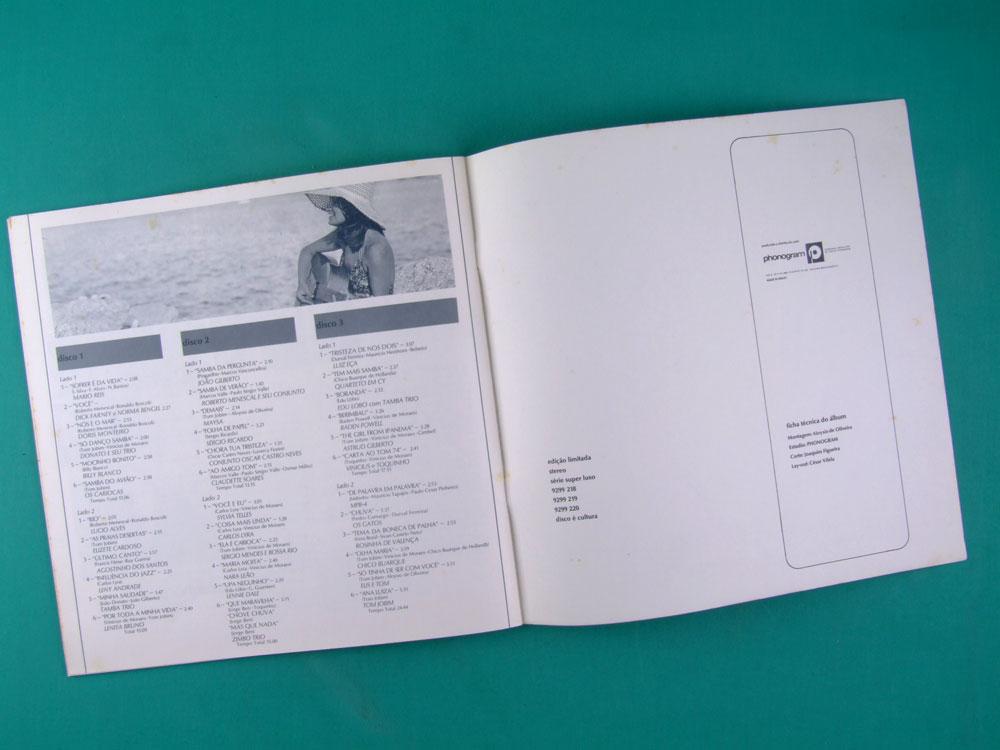 LP BOX BOSSA NOVA SUA HISTORIA SUA GENTE 1975 DONATO NARA JOBIM ELIS REGINA BRAZIL