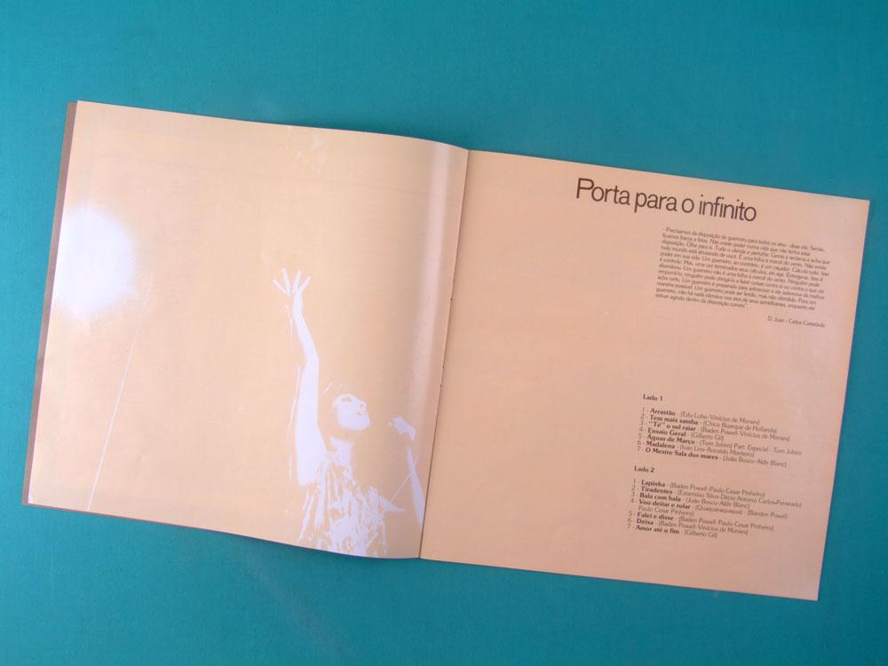 LP BOX ELIS REGINA POR UM AMOR MAIOR 1982 BOSSA BRAZIL