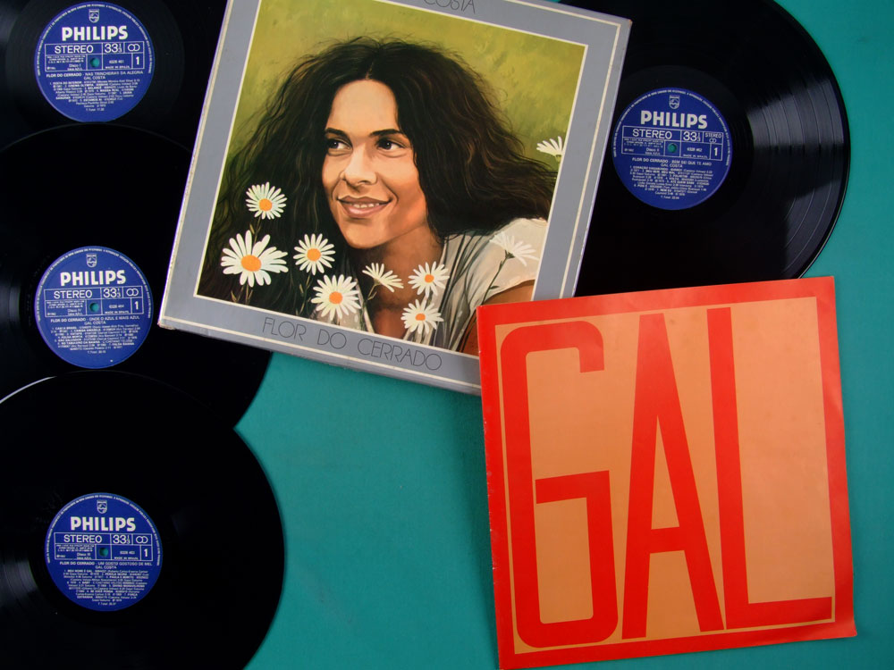 LP BOX GAL COSTA FLOR DO CERRADO 1982 FOLK TROPICALIA PSYCH BOSSA BRAZIL