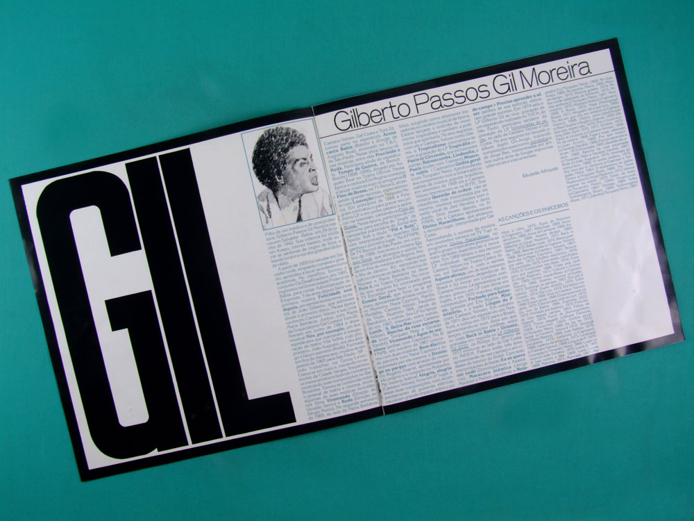 LP BOX GILBERTO GIL O CORDAO DA LIBERDADE 1981 GROOVE BOSSA BRAZIL