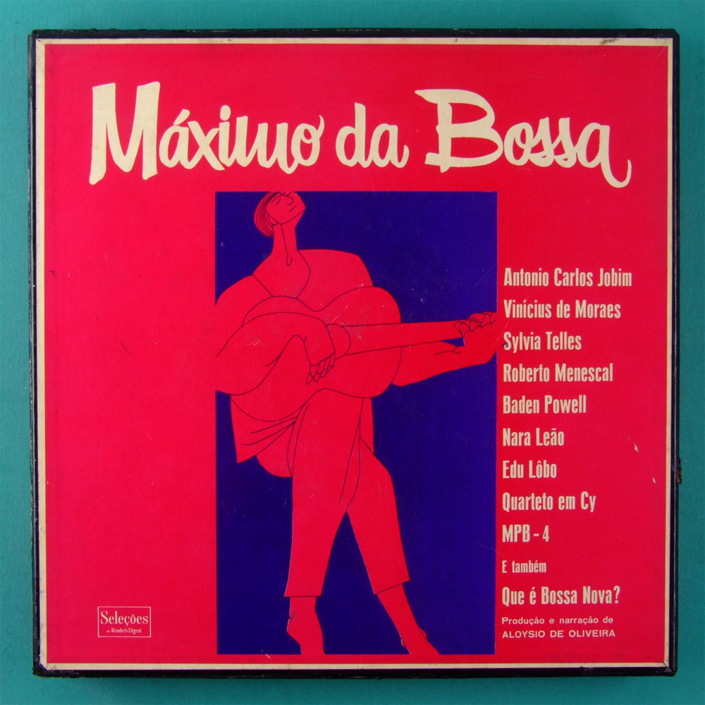 LP BOX MAXIMO DA BOSSA 1967 JAZZ BOSSA ELENCO FOLK BRAZIL