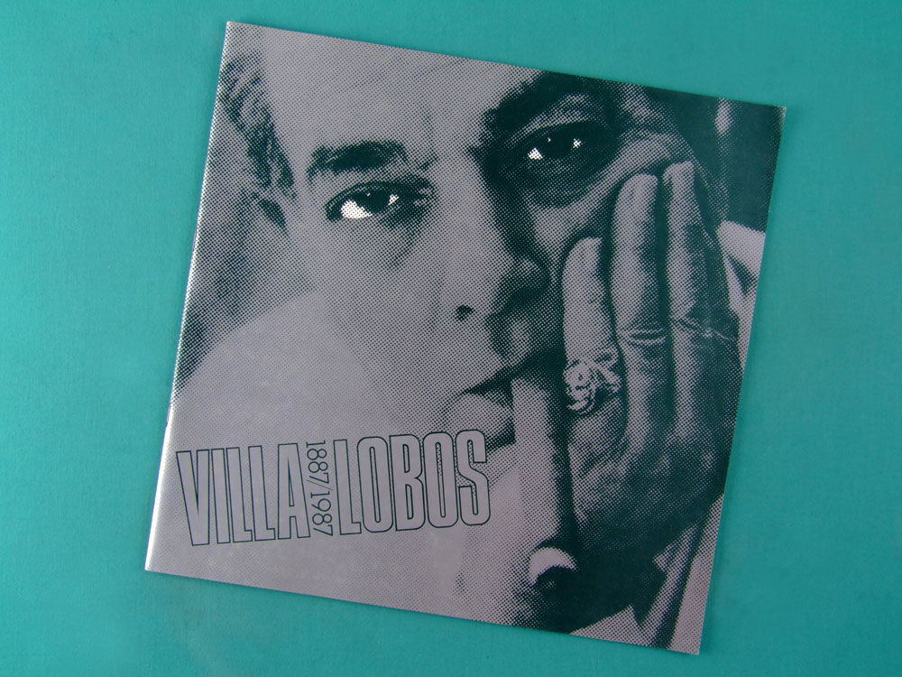 LP VILLA LOBOS 100 ANOS 1987 4-RECORD SET BOXED BRAZIL