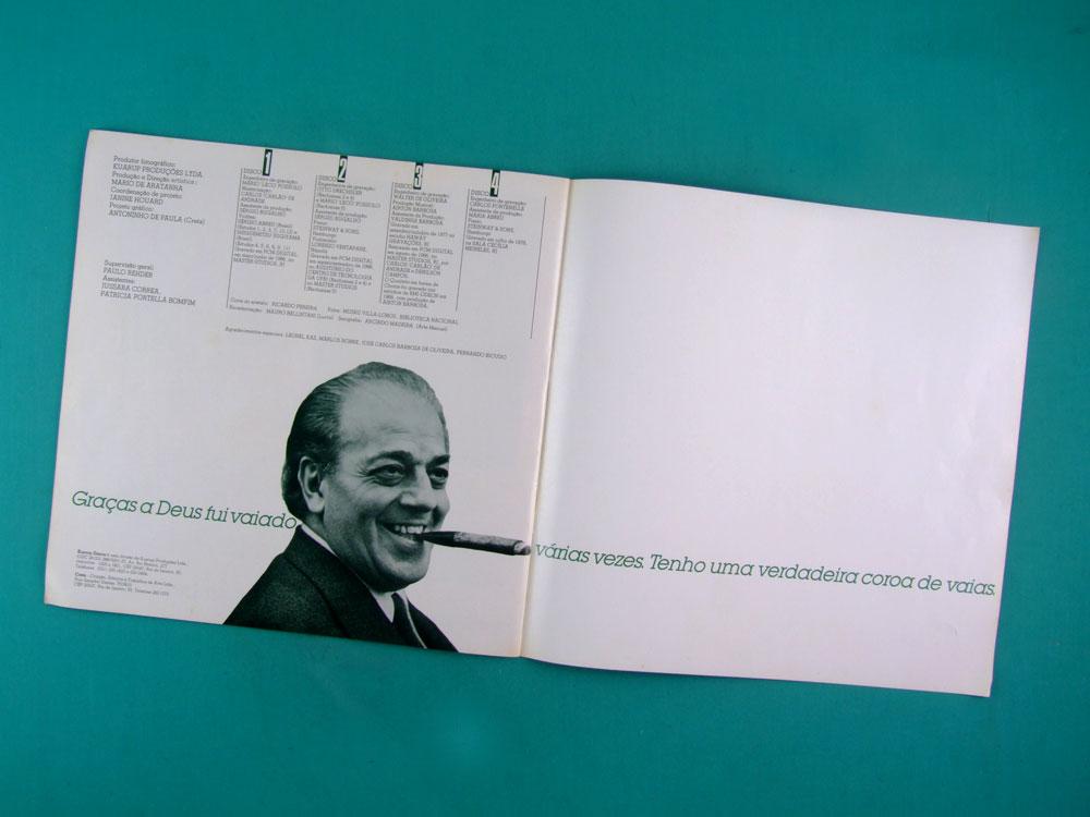 LP VILLA LOBOS 100 ANOS 1987 4-RECORD SET BOXED BRAZIL