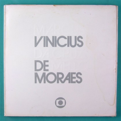 LP BOX VINICIUS DE MORAES TV GLOBO 1980 PROMOTIONAL BRAZIL