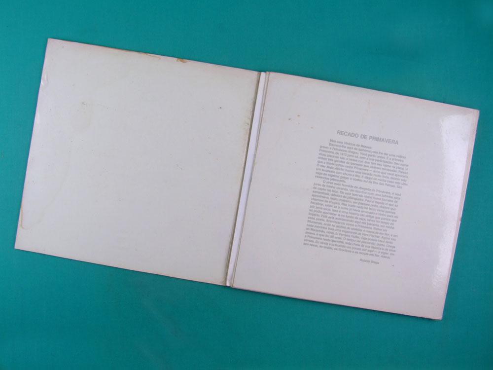 LP BOX VINICIUS DE MORAES TV GLOBO 1980 PROMOTIONAL BRAZIL