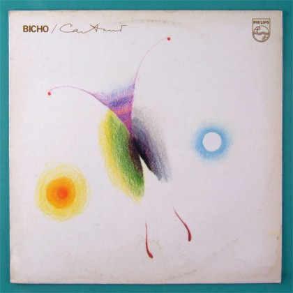 LP CAETANO VELOSO BICHO 1977 2ND GROOVE BOSSA PSYCH BRAZIL